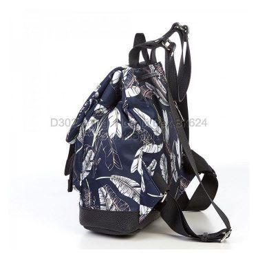 Д302 Рюкзак mini Перышки